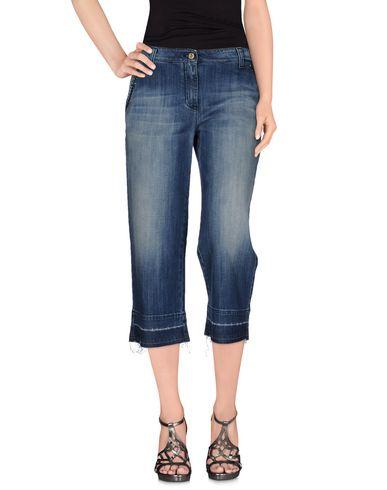 Купить Джинсовые брюки-капри синего цвета