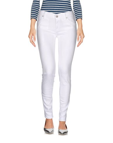 HTC DENIM Denim trousers Women on YOOX.COM