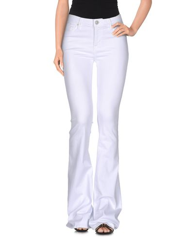 Купить Джинсовые брюки белого цвета