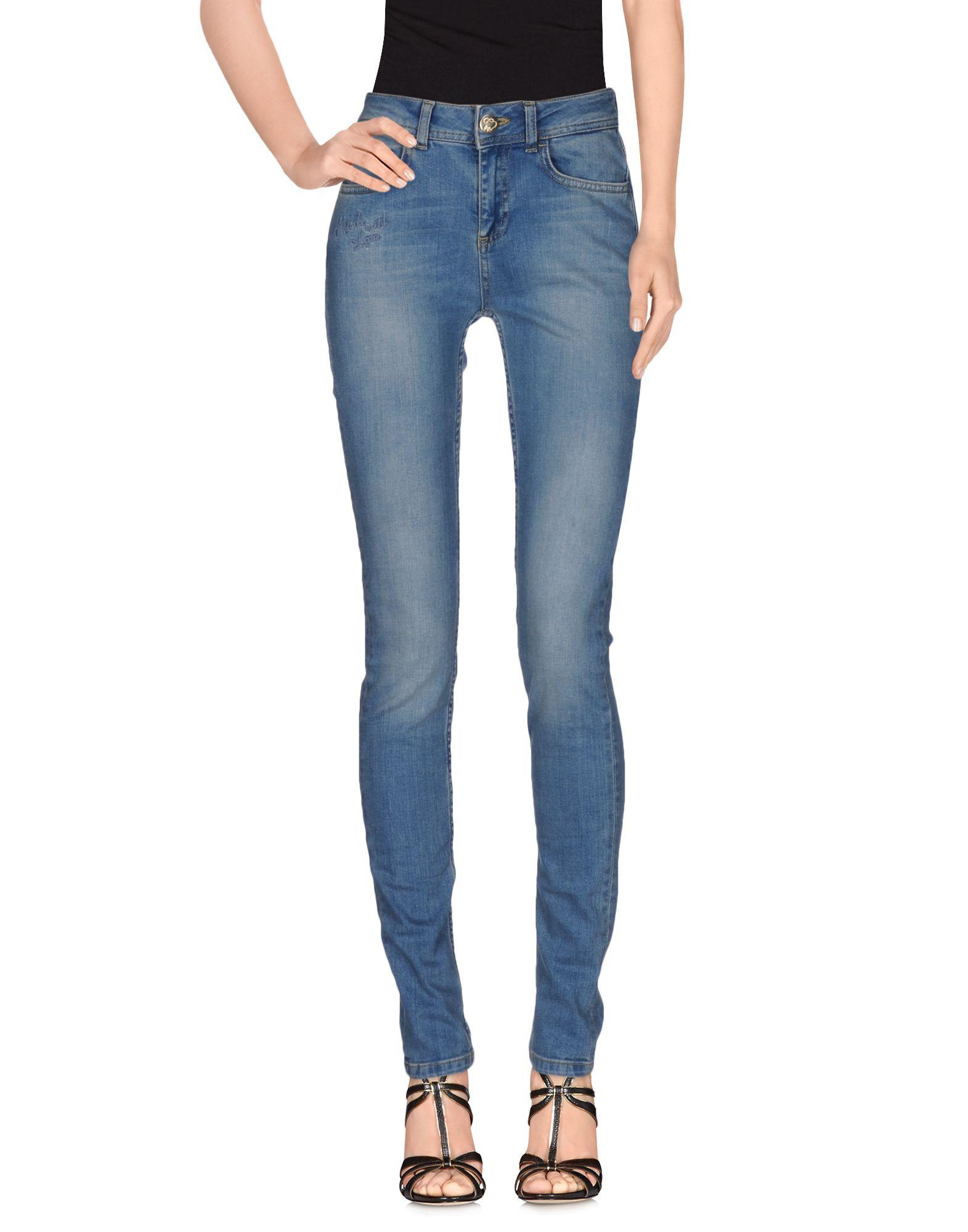 MAISON ESPIN Джинсовые брюки цена