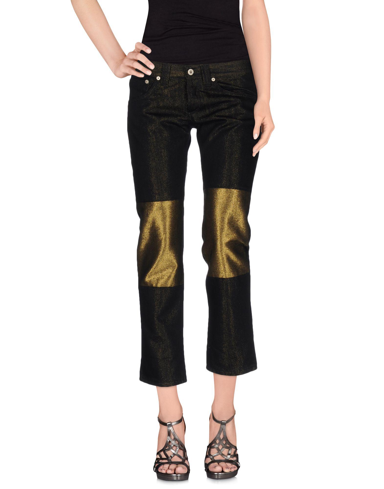DONDUP Джинсовые брюки-капри dismero джинсовые брюки
