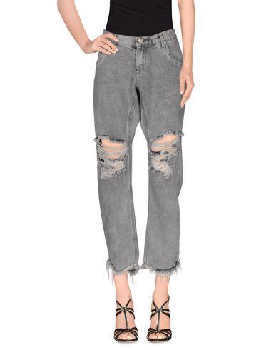 Купить Джинсовые брюки свинцово-серого цвета