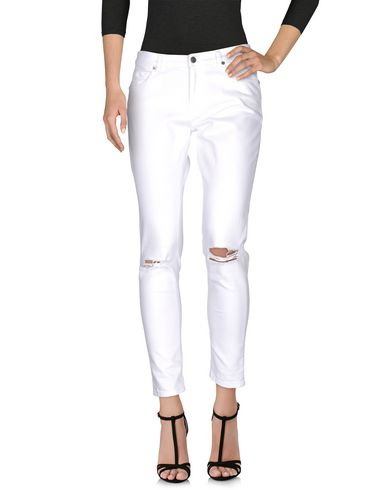 Купить Джинсовые брюки от GAëLLE Paris белого цвета
