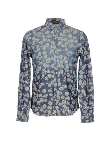 Купить Джинсовая рубашка от SUN 68 синего цвета