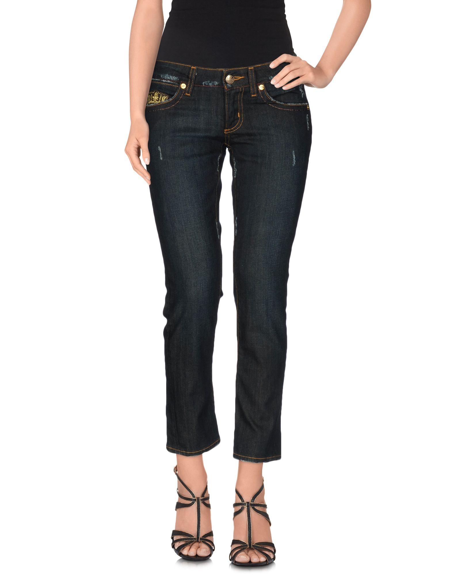 EIGHT SIN Джинсовые брюки-капри
