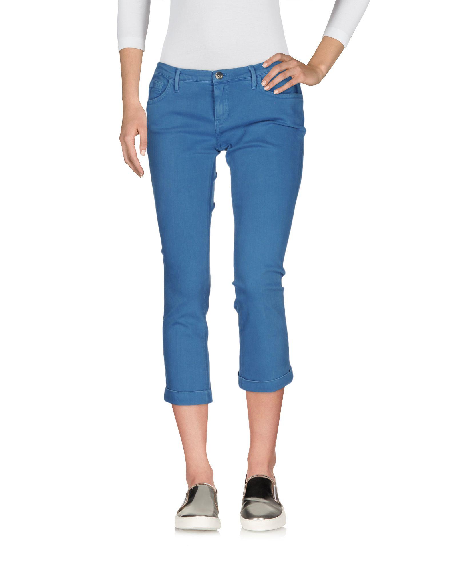 KAOS JEANS Джинсовые брюки-капри start up джинсовые брюки капри