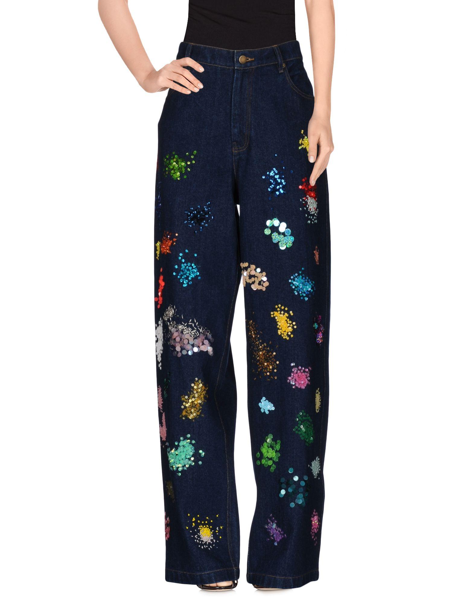 ASHISH Джинсовые брюки
