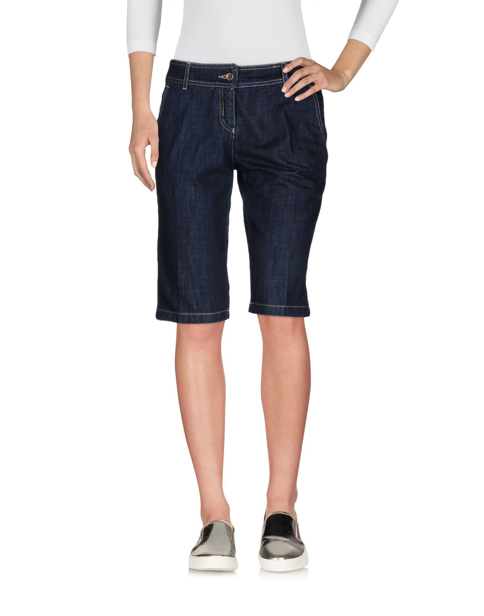 19.70 NINETEEN SEVENTY Джинсовые бермуды 19 70 nineteen seventy джинсовые брюки