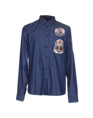 Джинсовая рубашка FRANKIE MORELLO 42547451AH