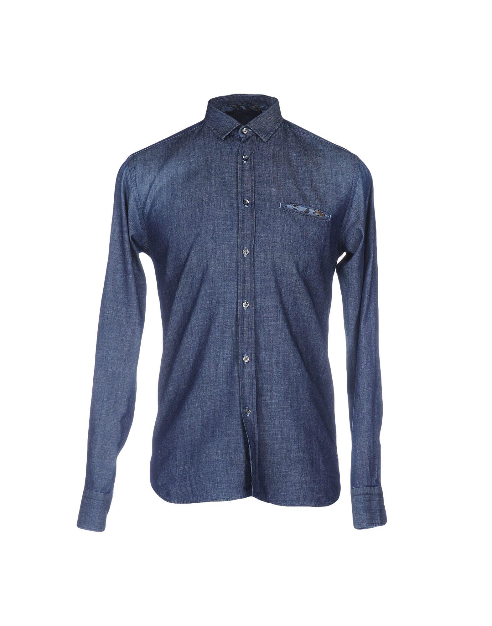 JEY COLE MAN Джинсовая рубашка