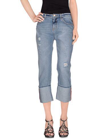 Джинсовые брюки-капри PINKO BLACK 42547719DO