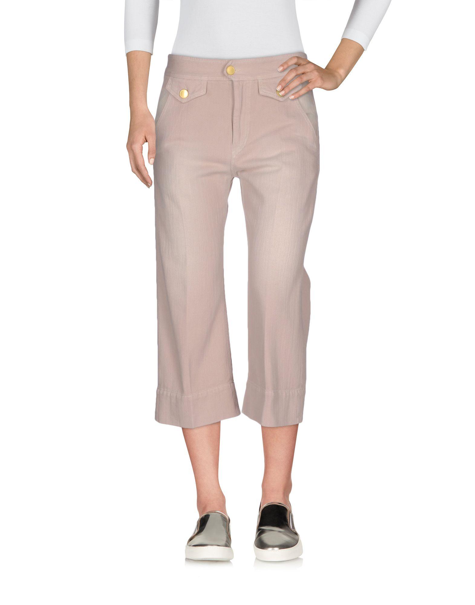 ISABEL MARANT ÉTOILE Джинсовые брюки-капри