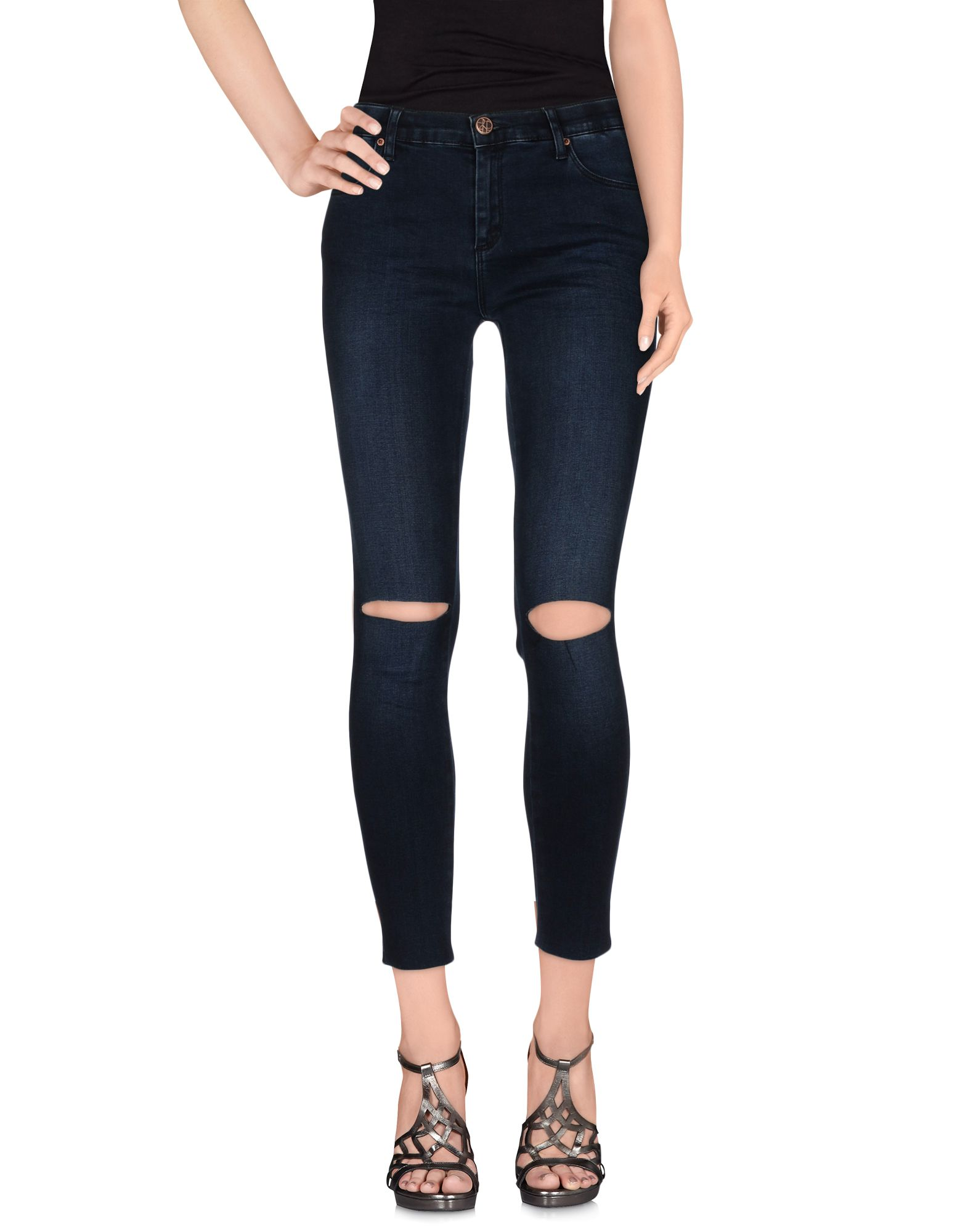 2ND ONE Damen Jeanshose Farbe Blau Größe 6