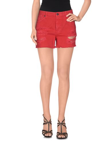 Купить Джинсовые шорты от UP ★ JEANS красного цвета
