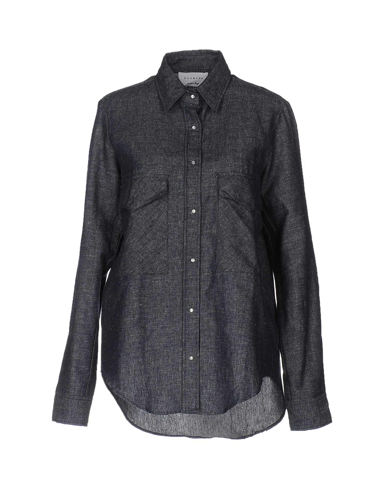 купить PRAMADA Джинсовая рубашка по цене 2500 рублей