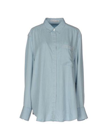 Джинсовая рубашка ACNE STUDIOS 42548800XR