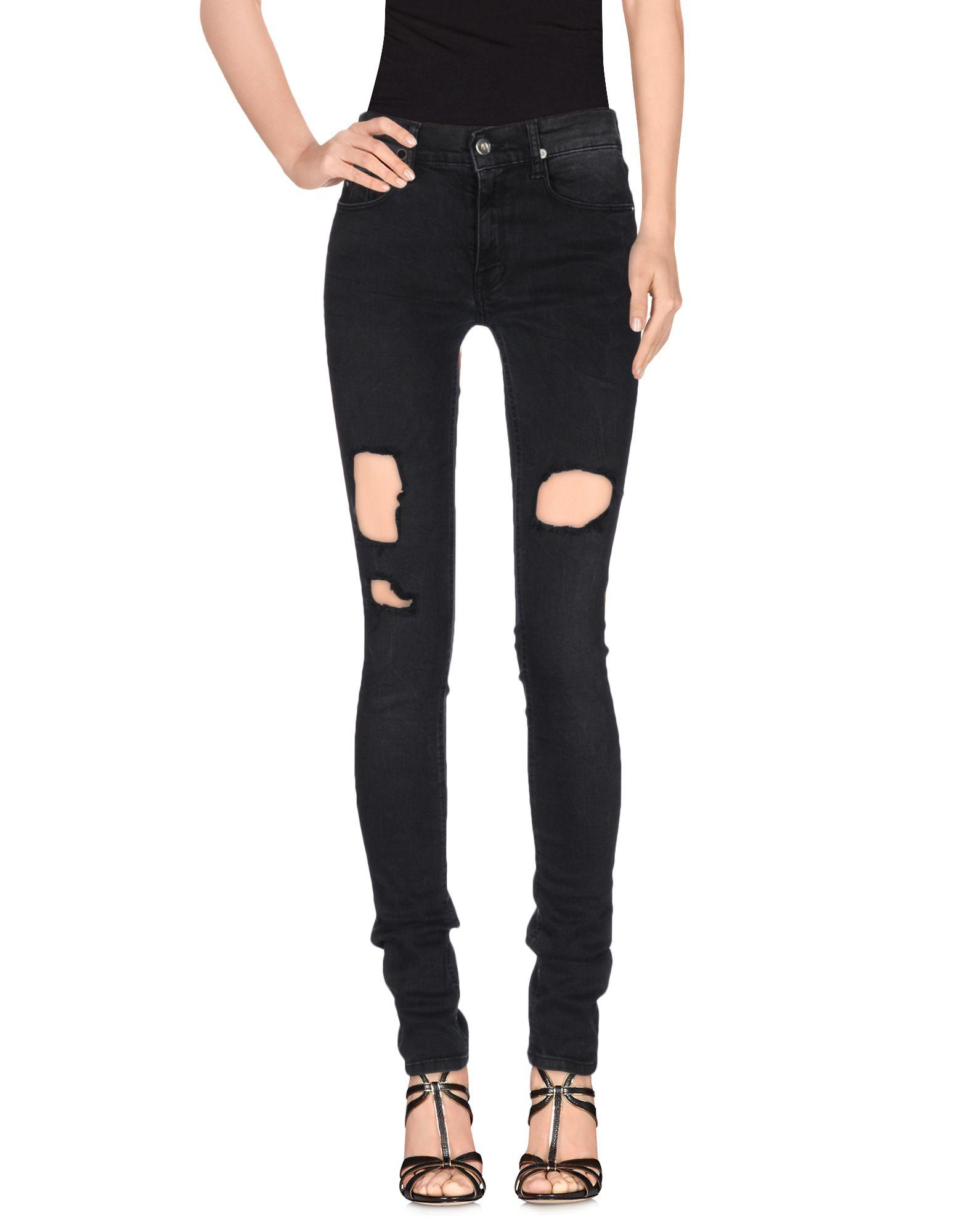 APRIL77 Denim Pants in Black