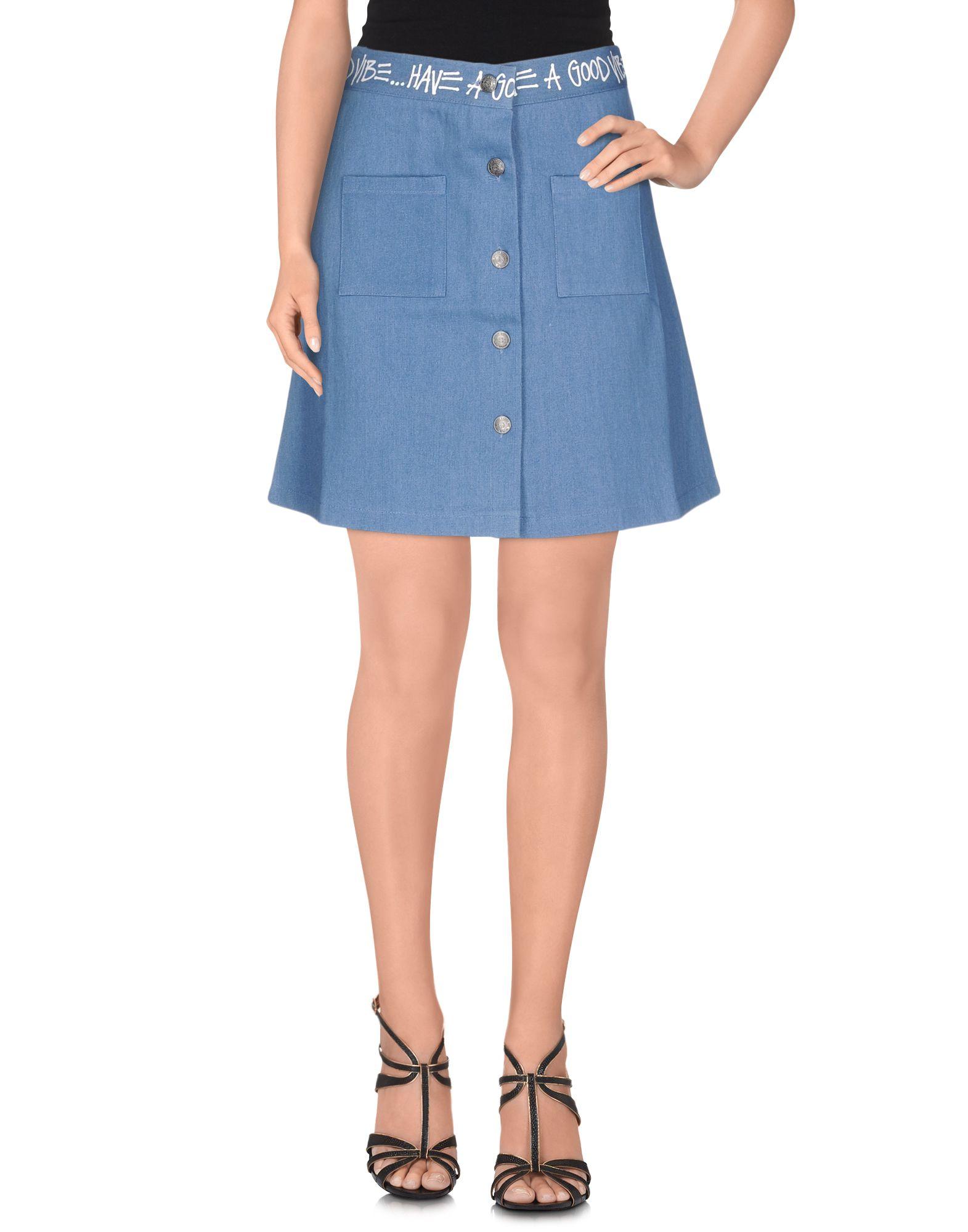 купить STUSSY Джинсовая юбка недорого