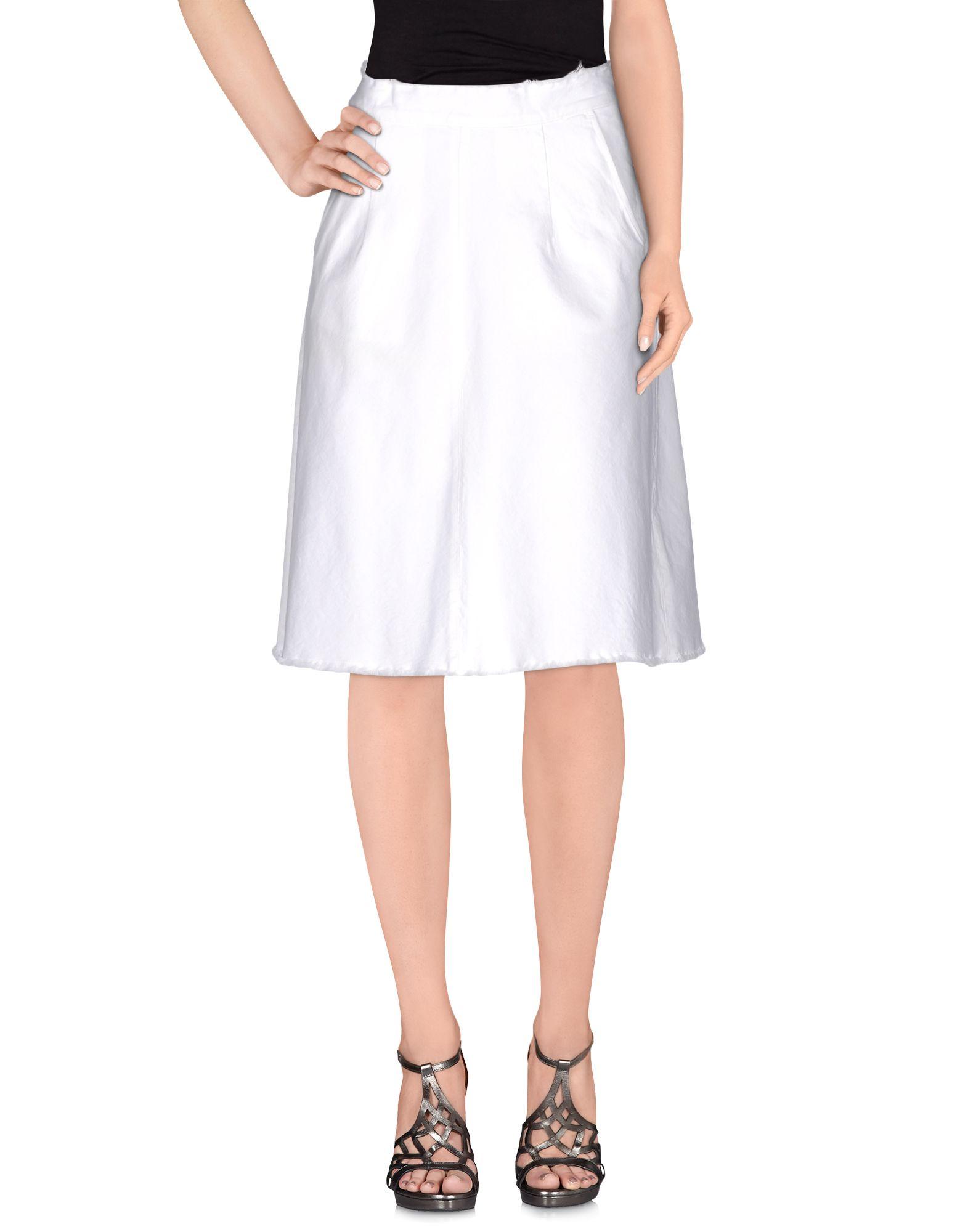 цена  VINTAGE 55 Джинсовая юбка  онлайн в 2017 году