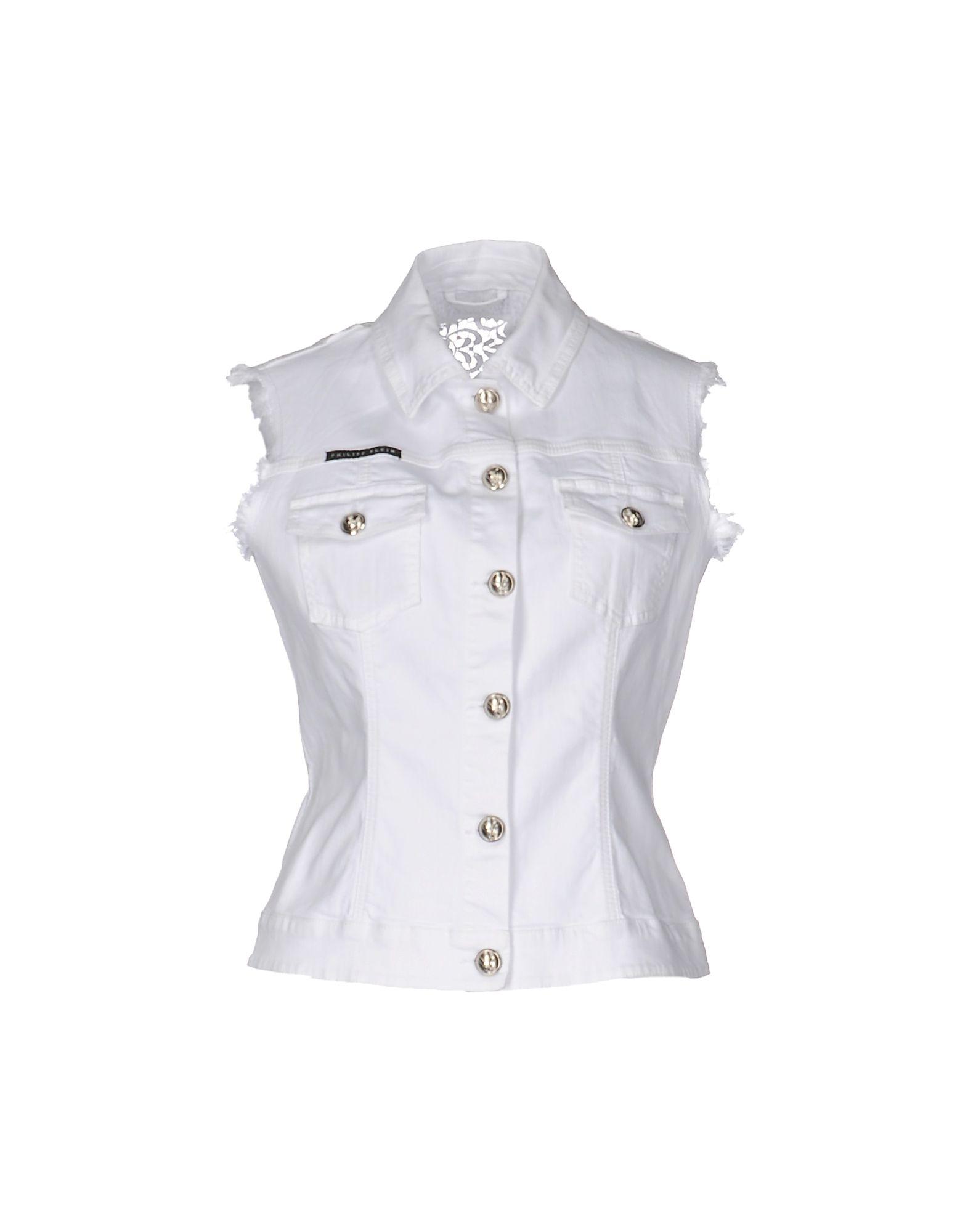 PHILIPP PLEIN Джинсовая верхняя одежда colmar джинсовая верхняя одежда