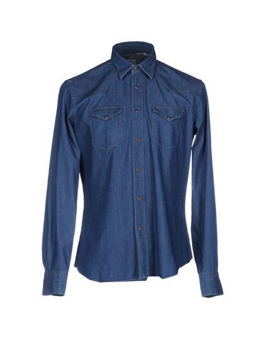 Купить Джинсовая рубашка от XACUS синего цвета