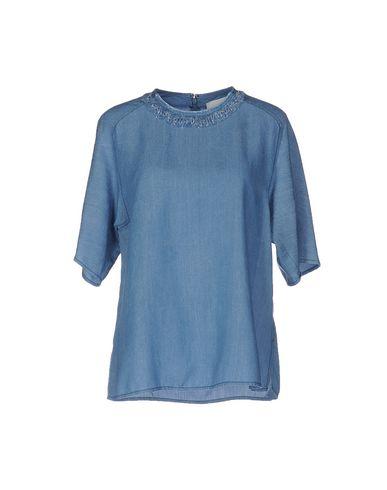 цена  3.1 PHILLIP LIM Джинсовая рубашка  онлайн в 2017 году