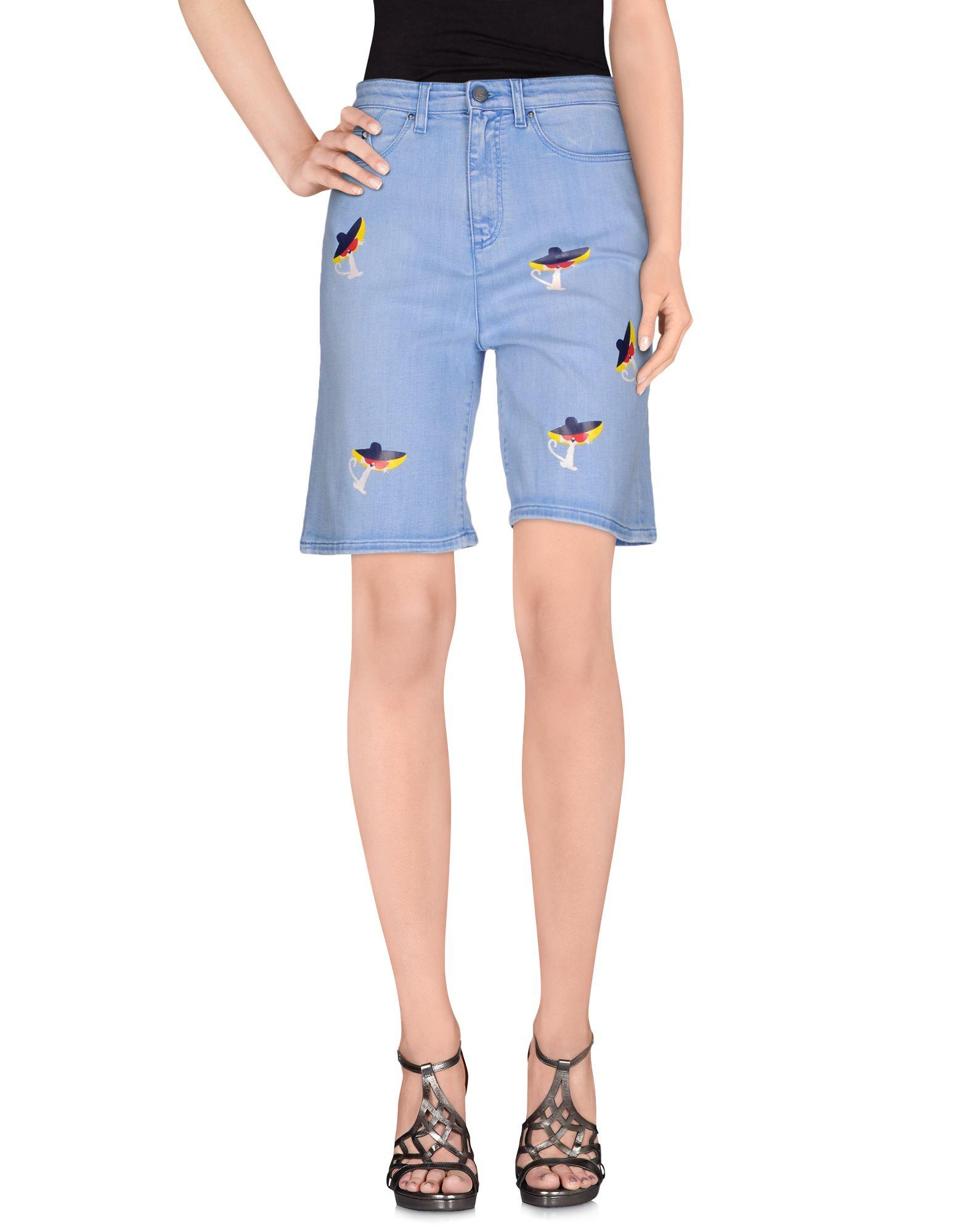 KARL LAGERFELD Джинсовые шорты шорты джинсовые karl lagerfeld kids шорты джинсовые