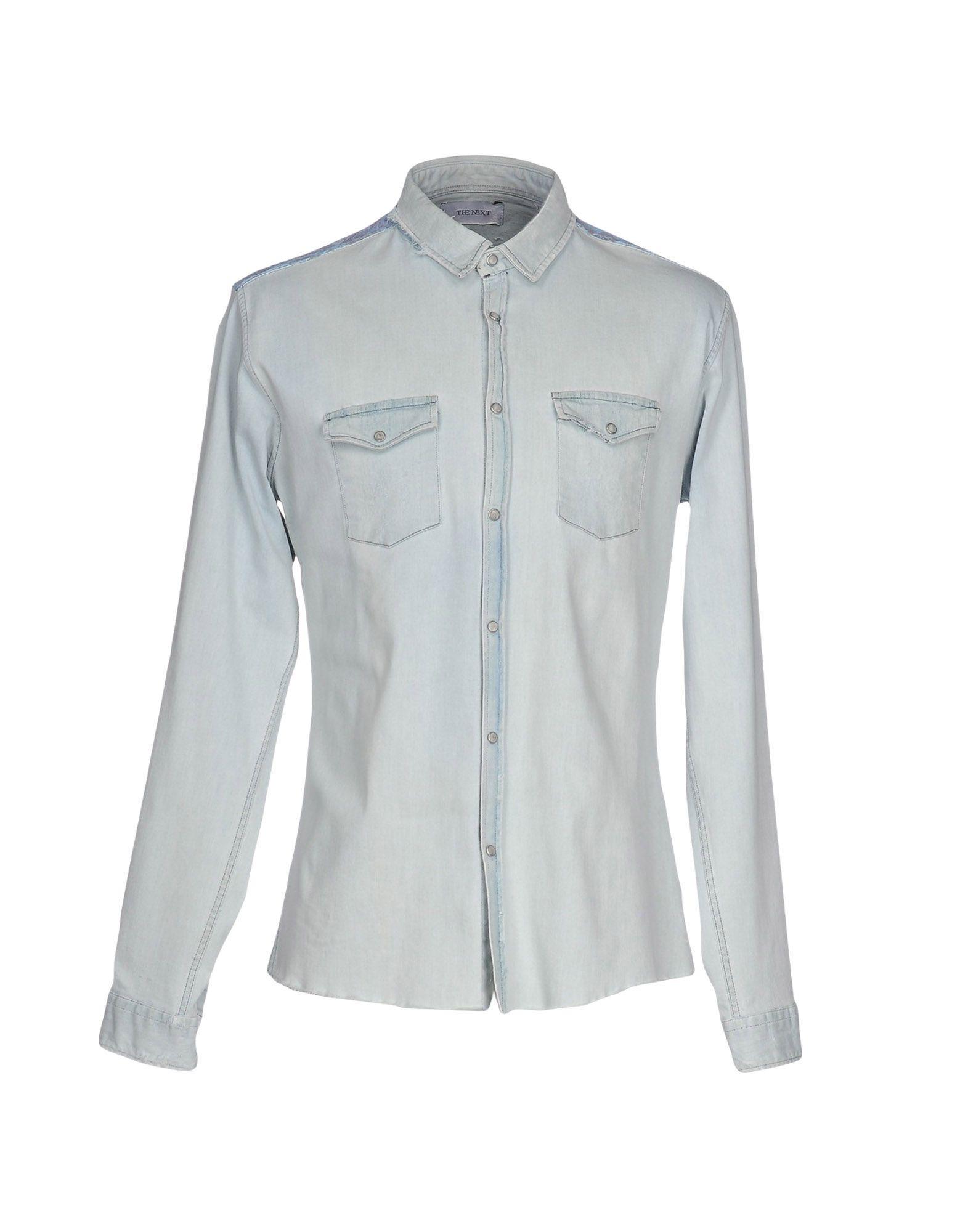 все цены на THE NEXT Джинсовая рубашка онлайн