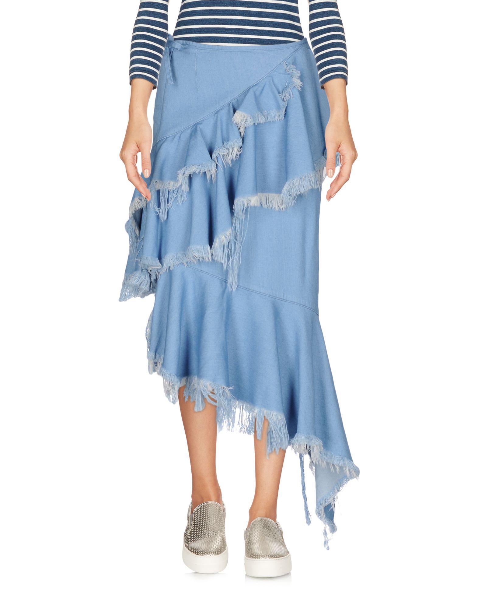 MARQUES' ALMEIDA Джинсовая юбка marques almeida мини юбка