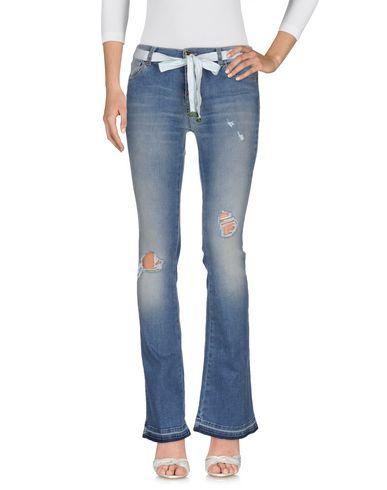 Джинсовые брюки TWIN-SET JEANS 42552033PG