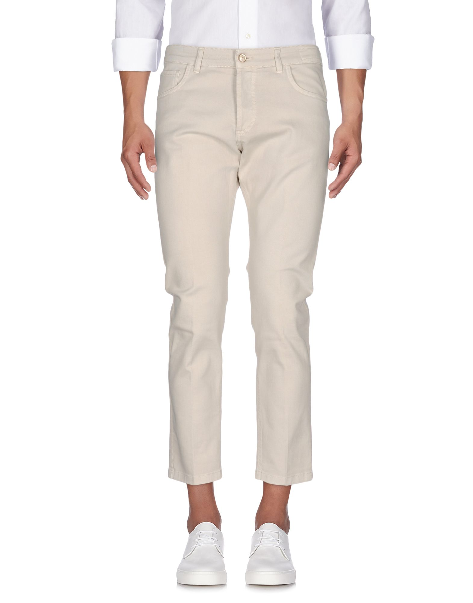 ENTRE AMIS Джинсовые брюки amis st30p white