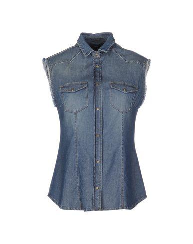 Image of SOALLURE DENIM Denim shirts Women on YOOX.COM