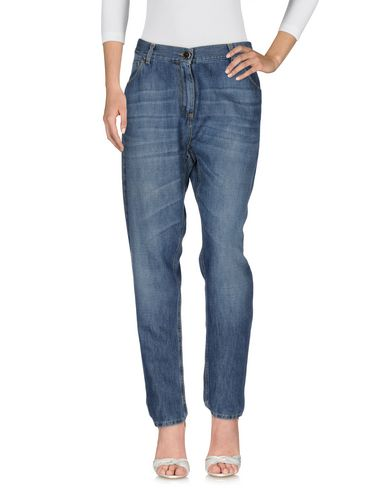 Джинсовые брюки от ELISABETTA FRANCHI JEANS