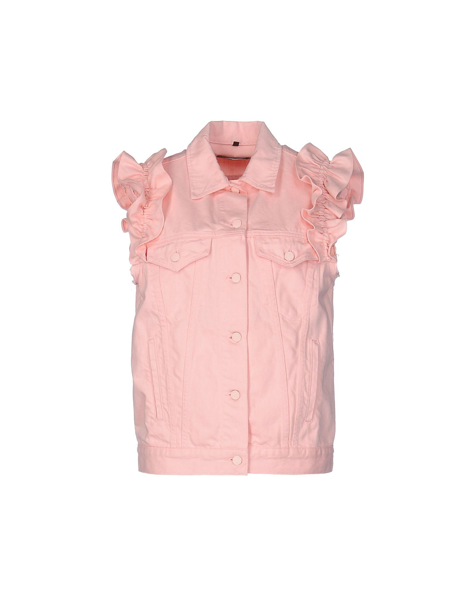 simone rocha x j brand короткое платье SIMONE ROCHA x J BRAND Джинсовая верхняя одежда
