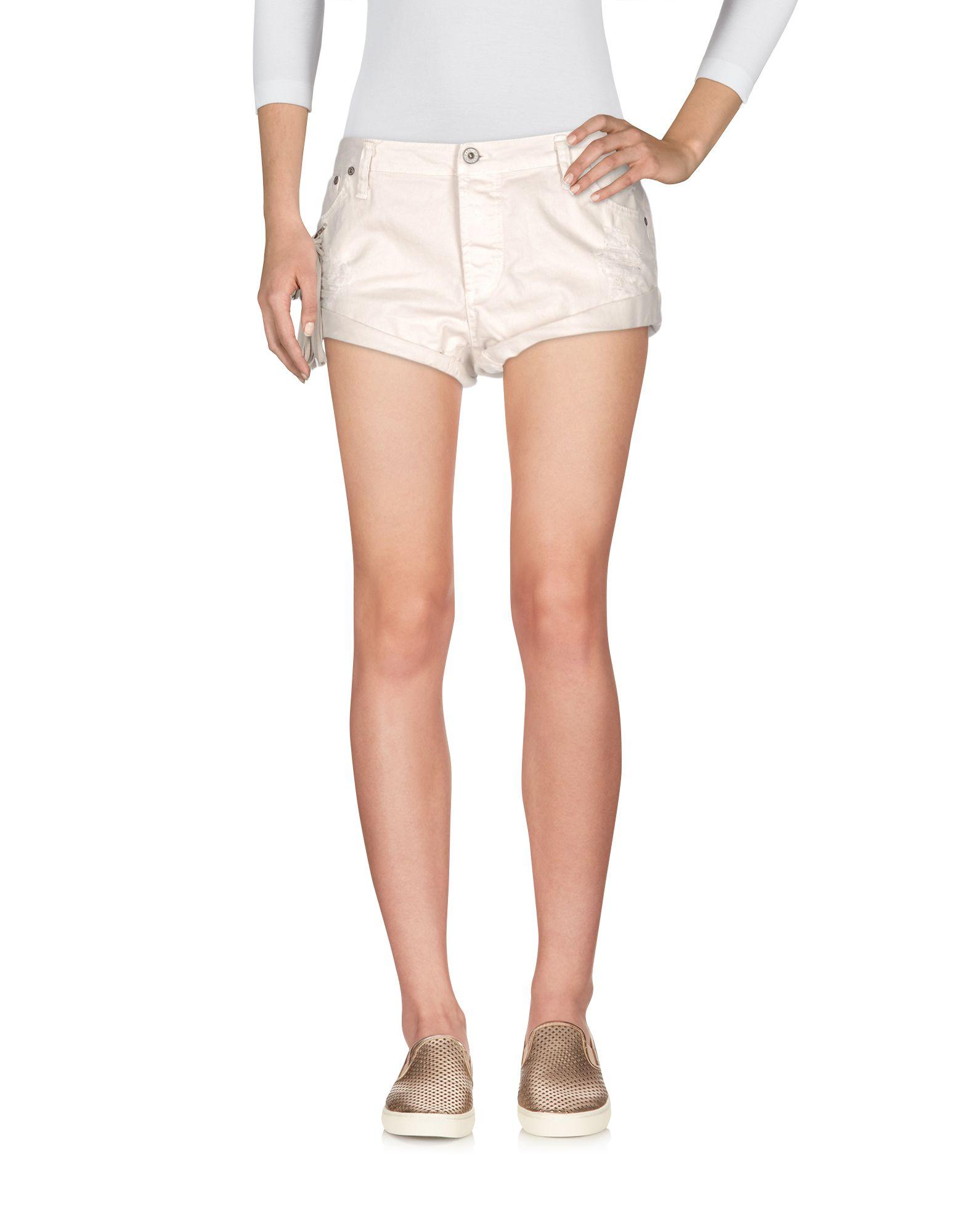 PLEASE Джинсовые шорты шорты джинсовые please please pl003ewrsd40