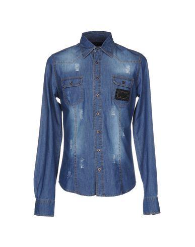 Джинсовая рубашка PHILIPP PLEIN 42552681SL