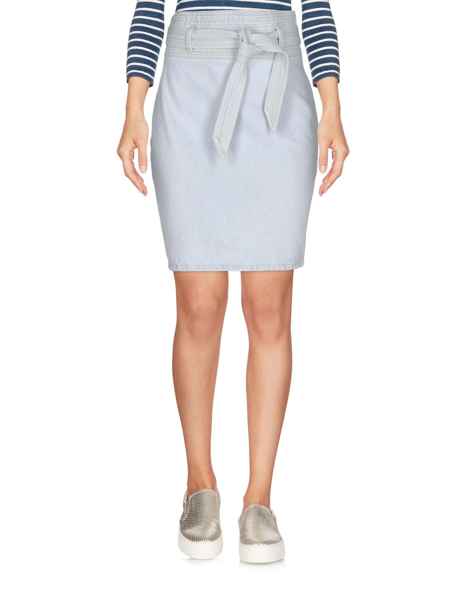 цена  NANUSHKA Джинсовая юбка  онлайн в 2017 году
