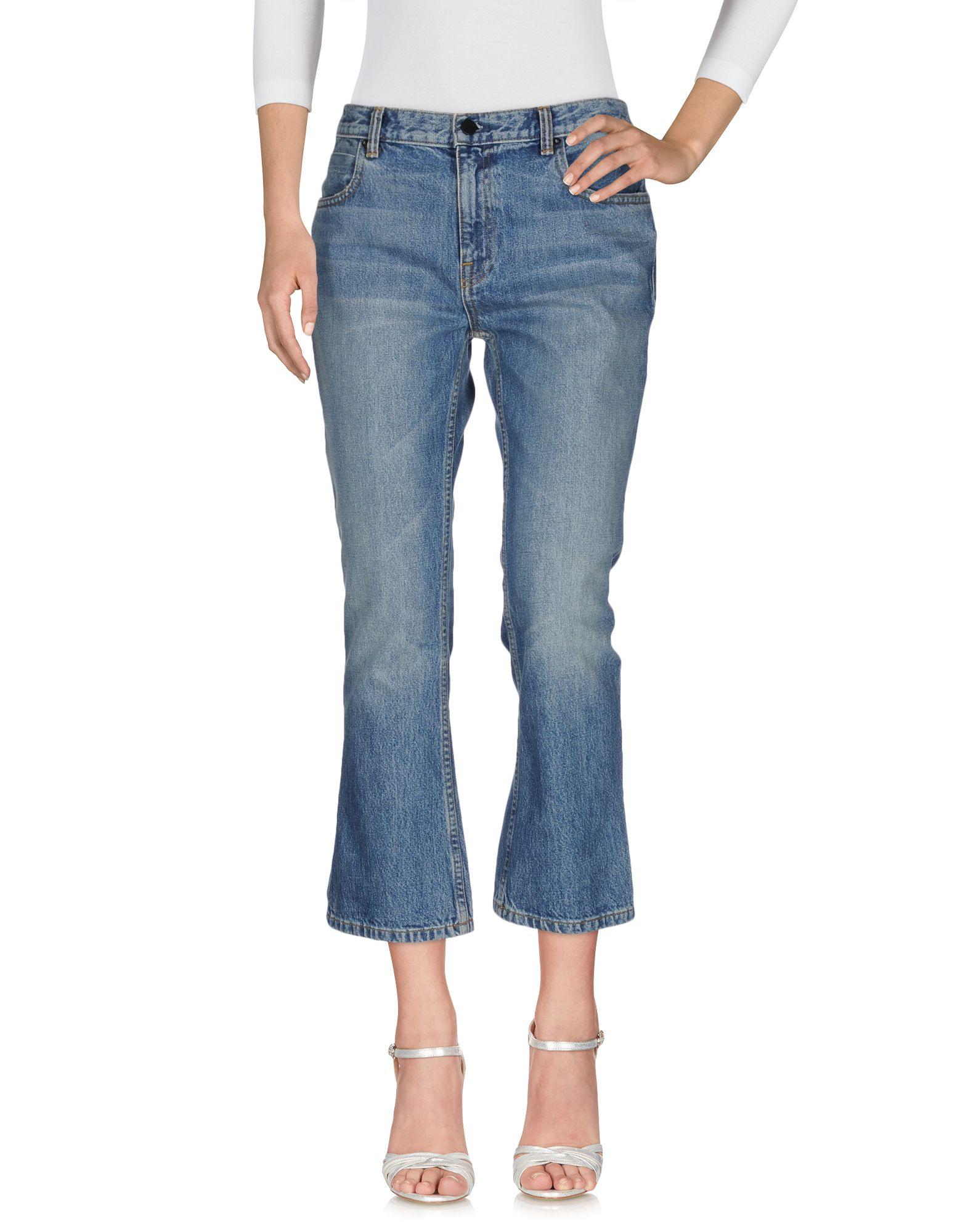 ALEXANDER WANG Джинсовые брюки женские брюки лэйт светлый размер 50