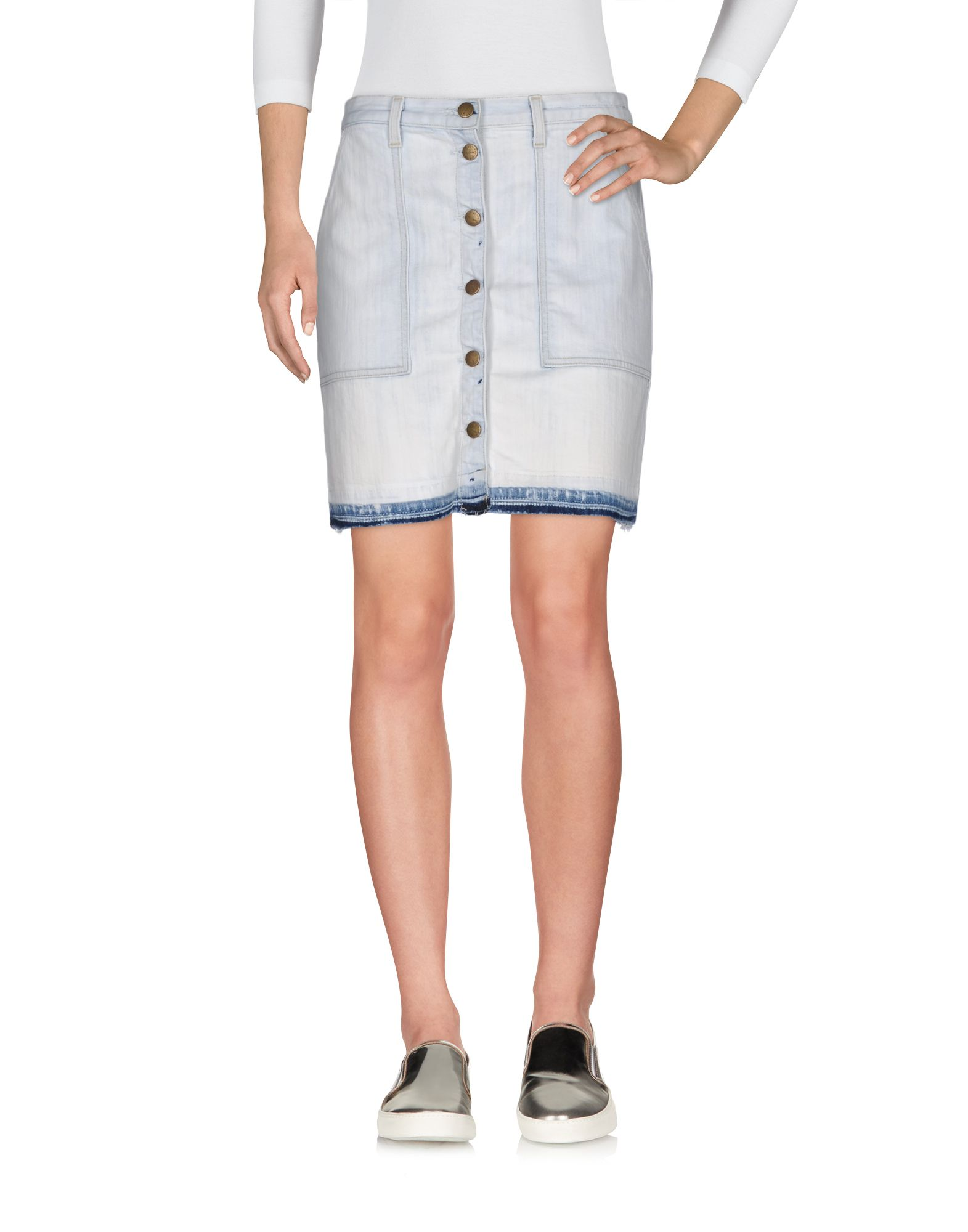 CURRENT/ELLIOTT Джинсовая юбка недорго, оригинальная цена