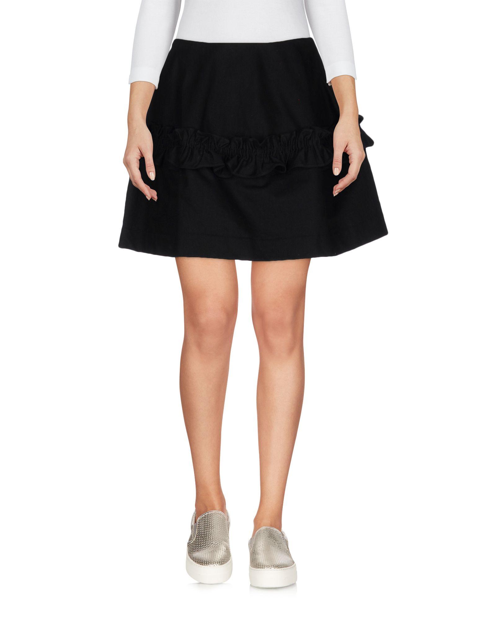 цена SIMONE ROCHA x J BRAND Джинсовая юбка онлайн в 2017 году