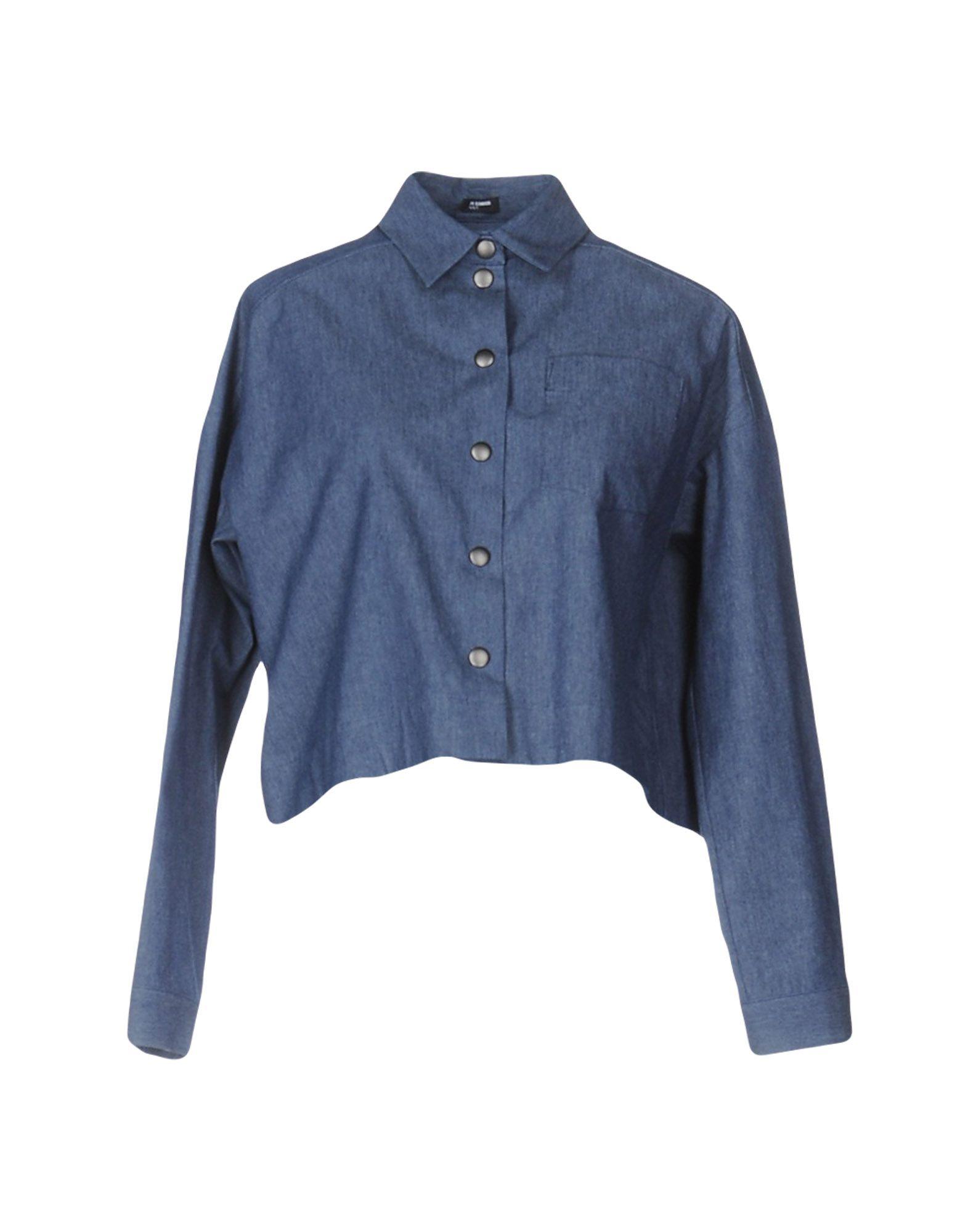 JIL SANDER NAVY Джинсовая рубашка