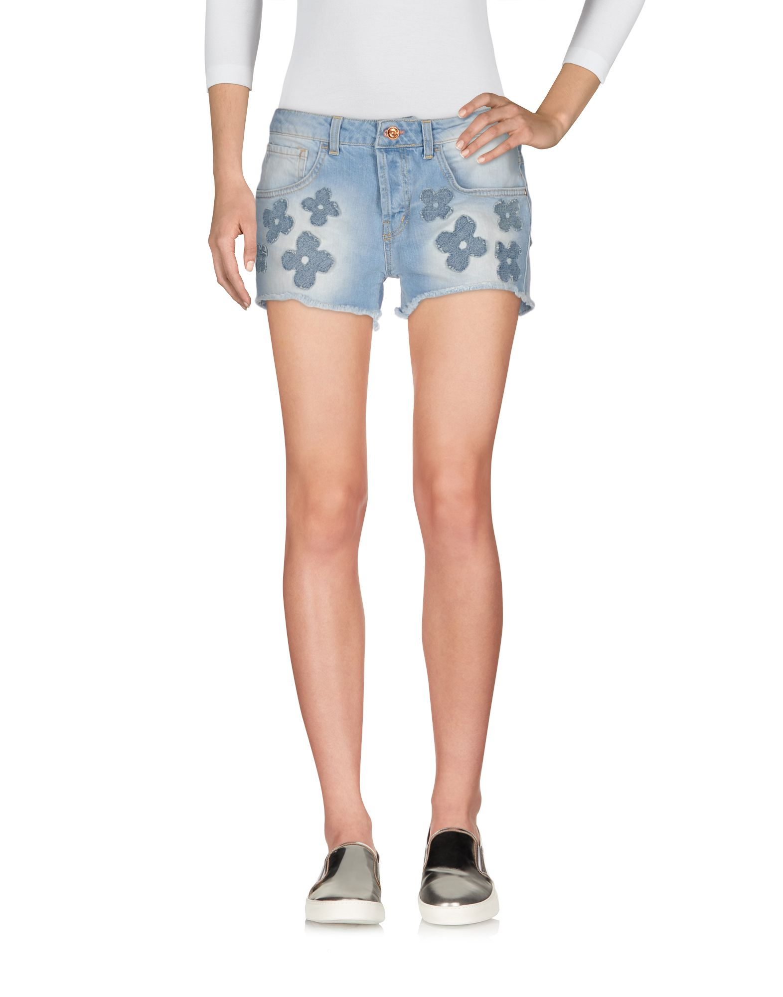 R* JEANS  by RINASCIMENTO Джинсовые шорты r jeans by rinascimento брюки капри
