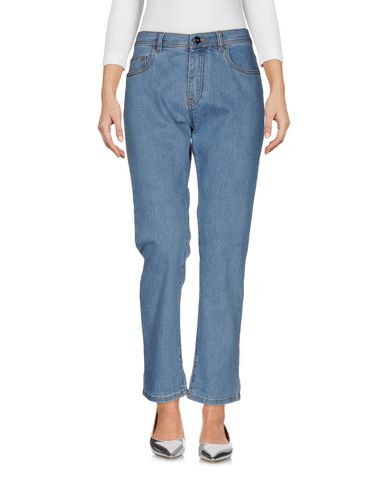 Джинсовые брюки FENDI 42553910KL