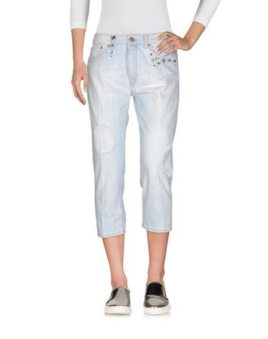 Джинсовые брюки-капри DONDUP 42554122DB