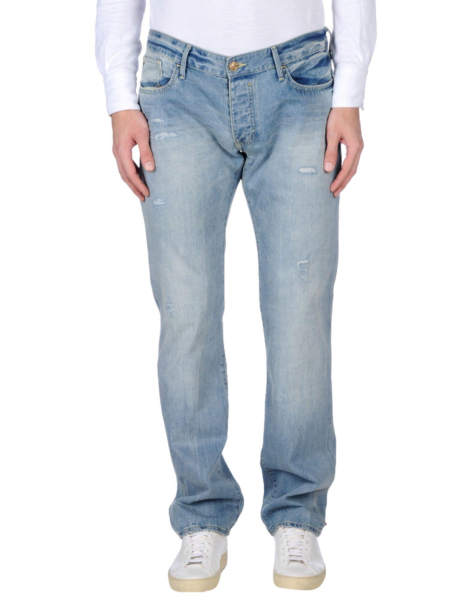 《セール開催中》ARMANI JEANS メンズ ジーンズ ブルー 31 100% コットン
