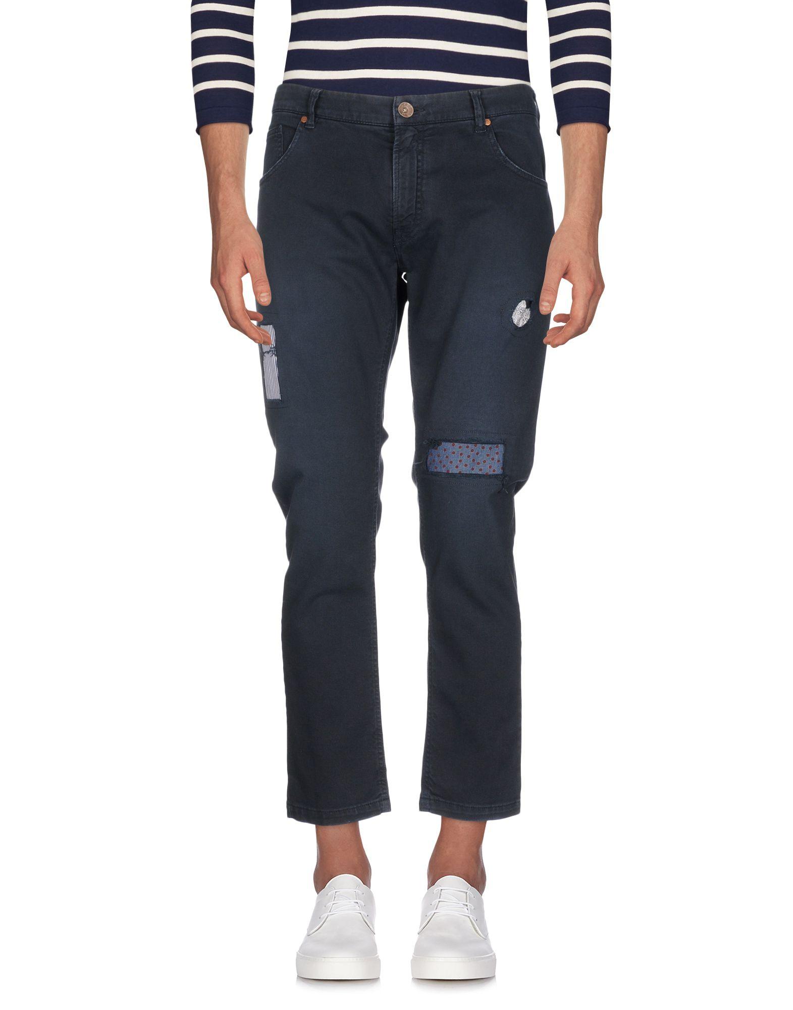 JEORDIE'S Джинсовые брюки-капри