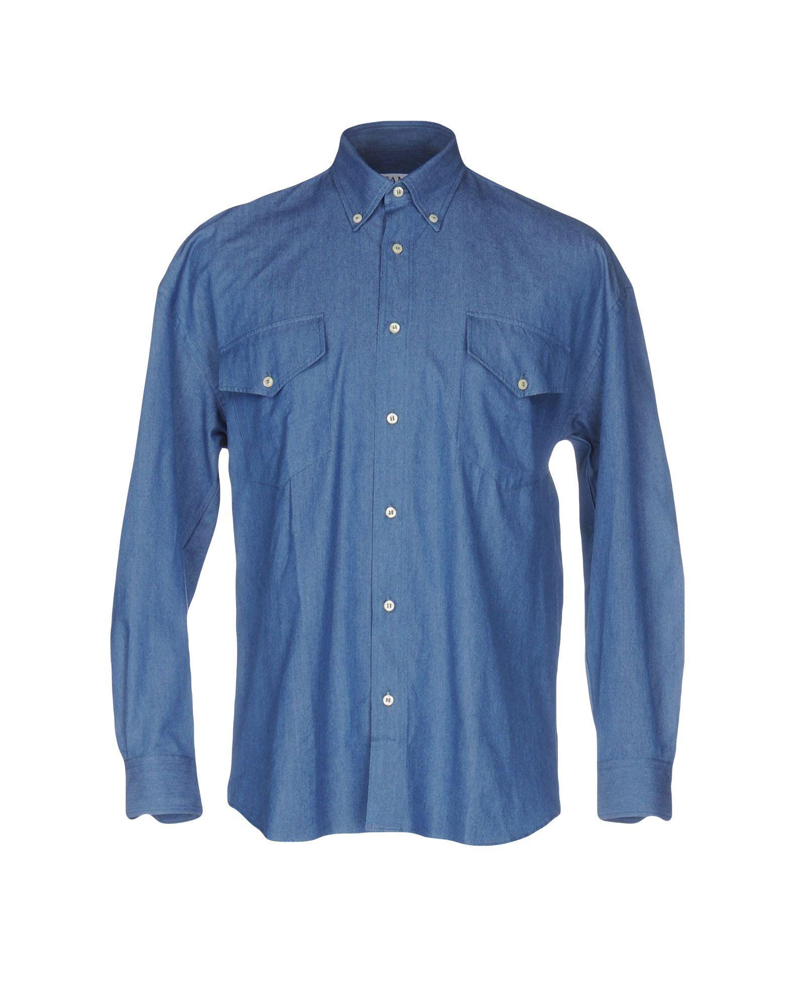 CAMO Джинсовая рубашка camo insert faux fur trim denim jacket