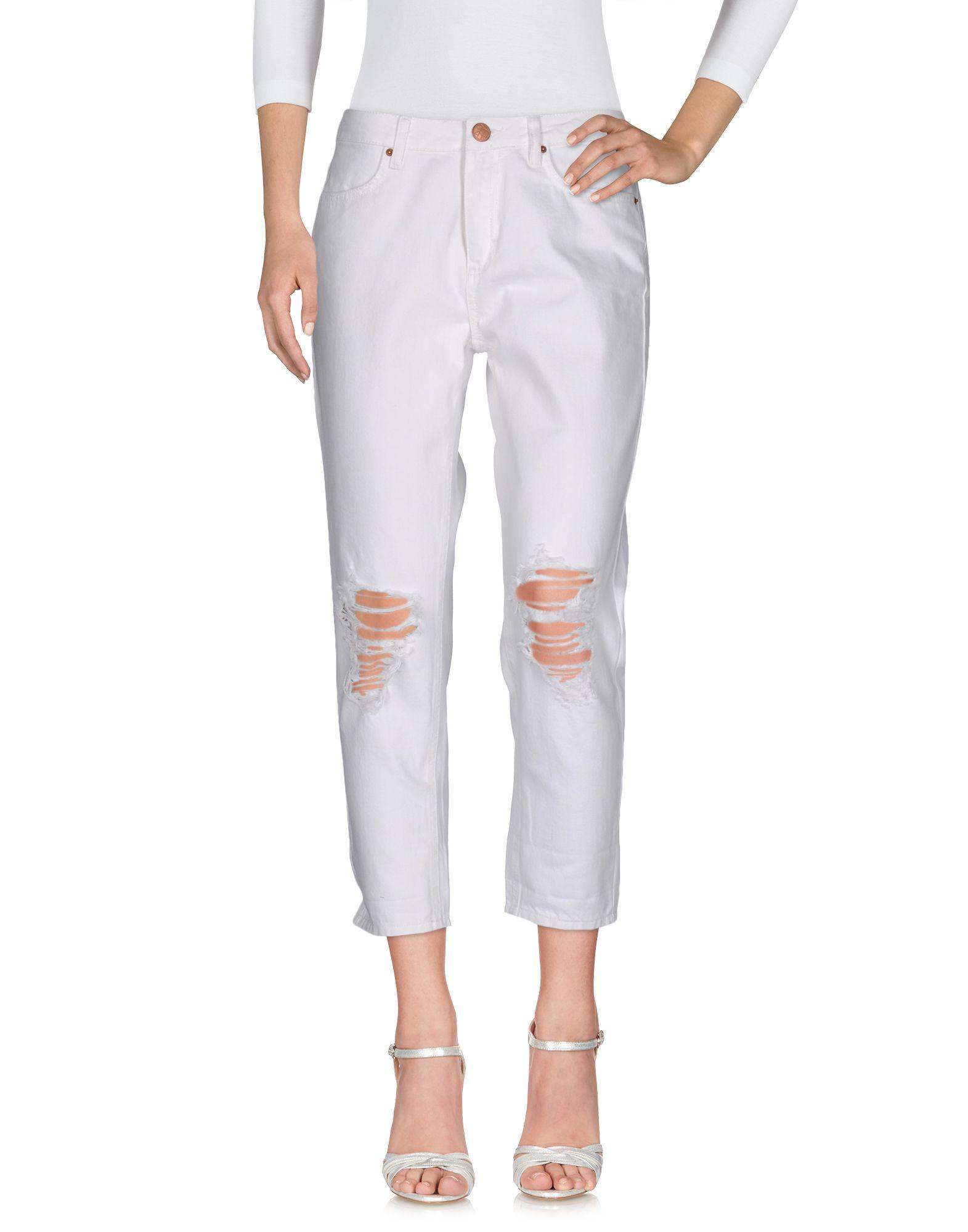 все цены на 2ND ONE Джинсовые брюки онлайн