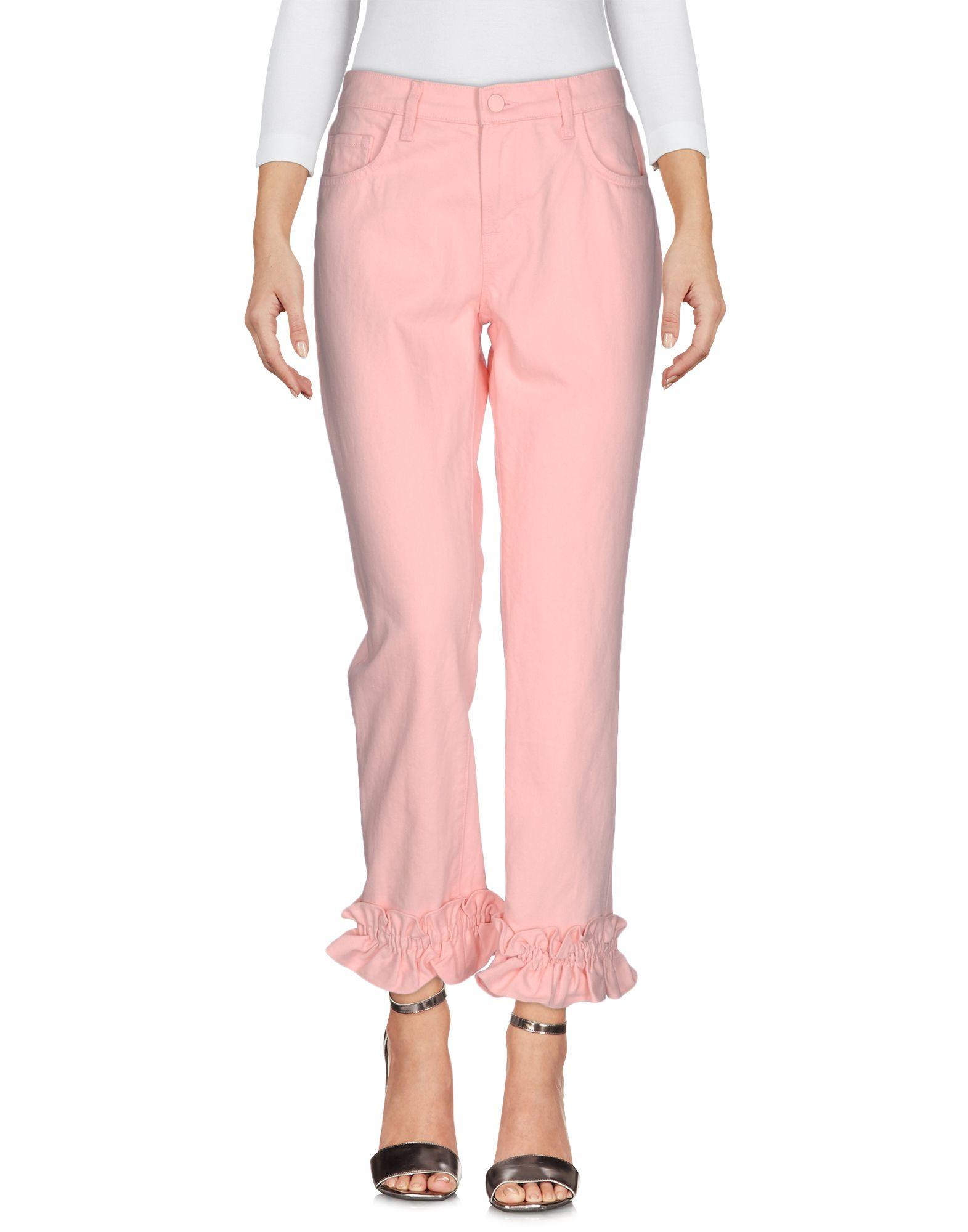 SIMONE ROCHA X J BRAND Denim Pants in Pink