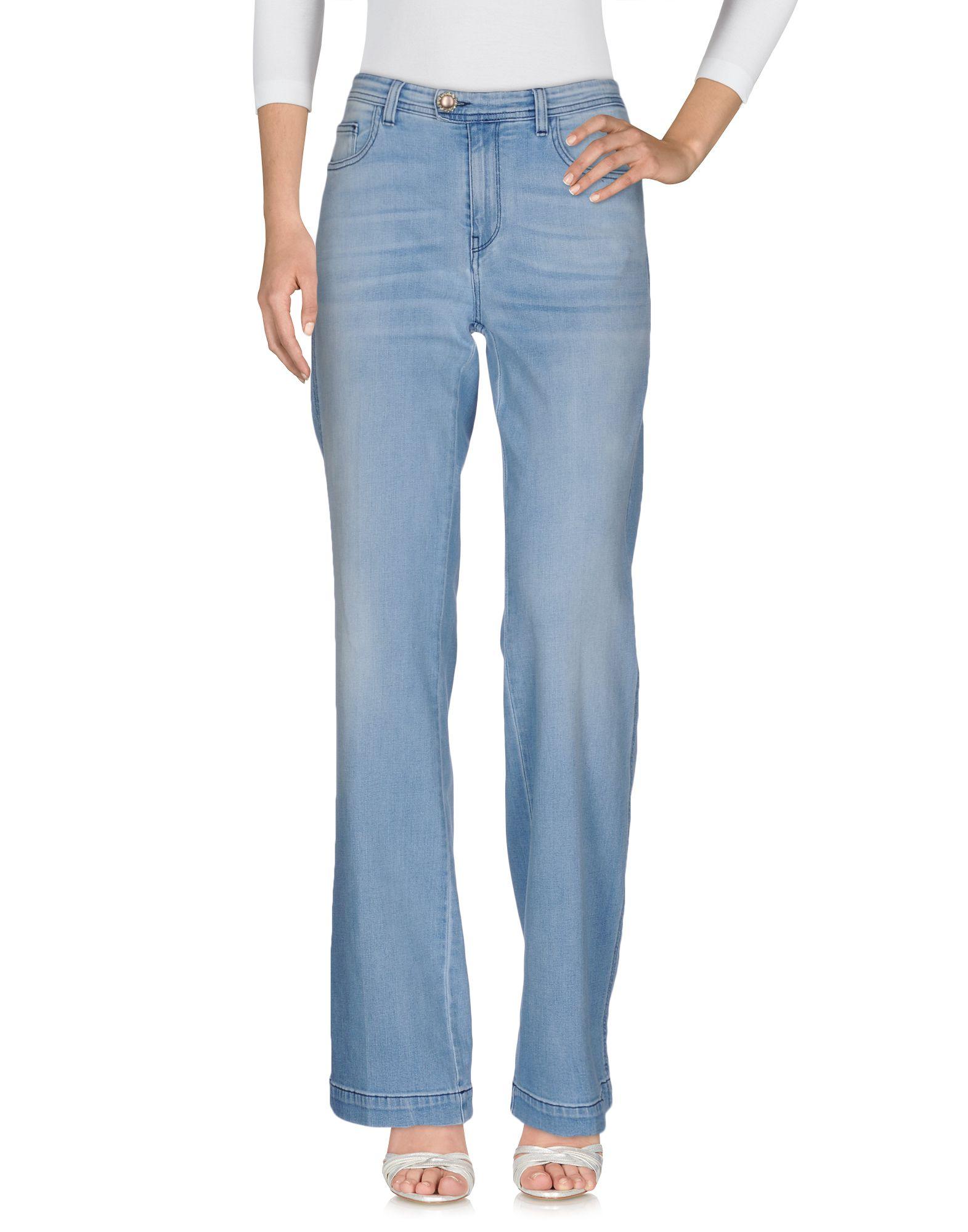 JIJIL LE BLEU Джинсовые брюки herge le lotus bleu